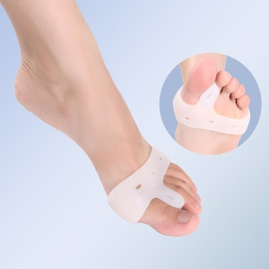 Hallux Toe Valgus Bunion Corrector Foot Care Tools New Straightener Gel Separators Stretchers Silicone Orthopedic Orthopedi K9V8