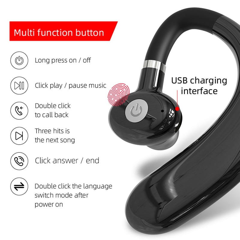 2021 R10 Bluetooth 5.0 Earphones TWS Wireless Headphones Sport Earbuds Headset With Mic For all smart Phone enlarge