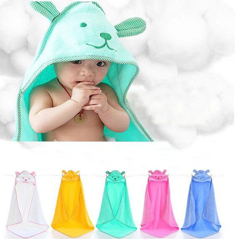 90*90 см, банное полотенце с рисунком медведя для малышей, банный халат с капюшоном для младенцев, детские одеяла, пеленки, хлопковые детские в...