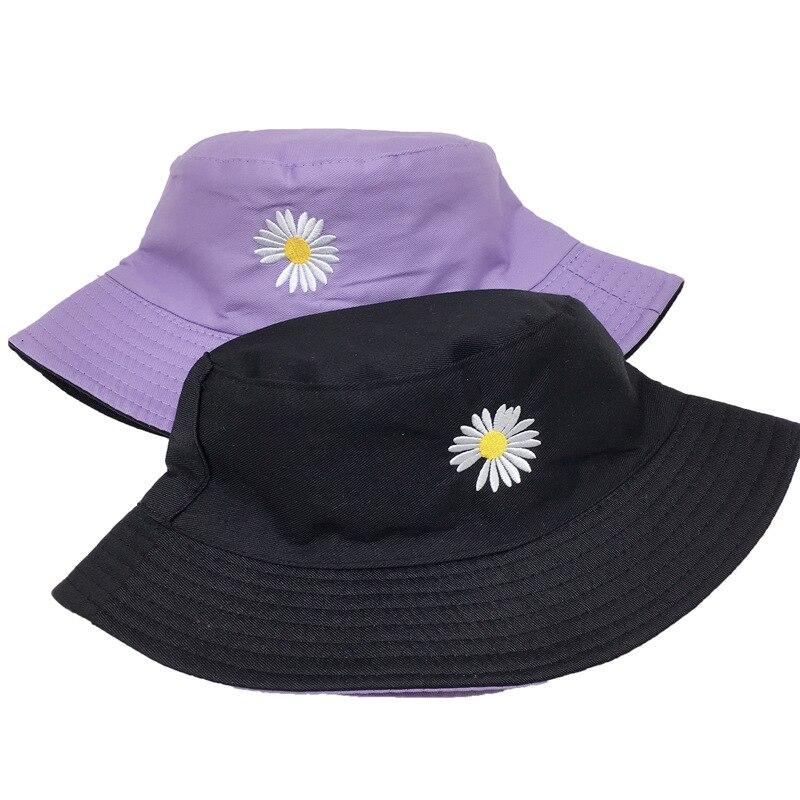 Chapeau de pêcheur en marguerite pour hommes et femmes, chapeaux dété de voyage, Protection solaire, couvre-plage, à la mode, chapeau de pêche