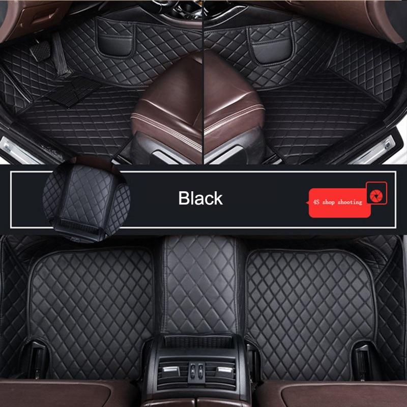 Customized Car Floor Mat for Audi A3 Cabriolet A3 Sportback A1 A2 A4 A6 A8 Q3 Q5 Q7 Car Accessories enlarge