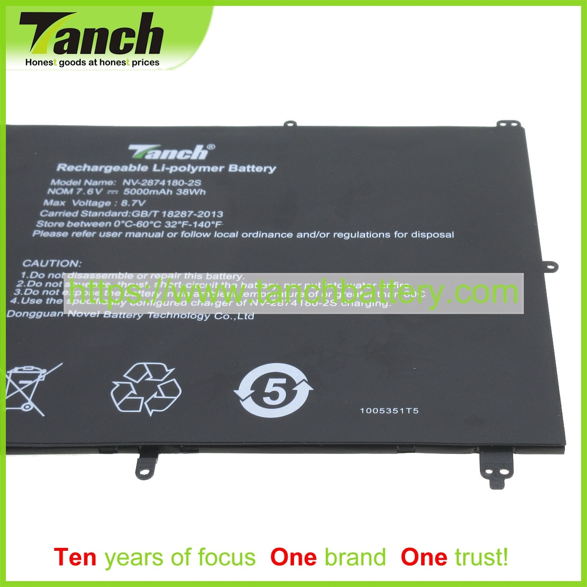 Tanch بطاريات الكمبيوتر المحمول ل الطائر TH133K-MC TH133A-MC TH133C-MC HW-37154200 HU140U-MB(V1.3) Ezbook S4 NB131 7.6V 4 الخليوي