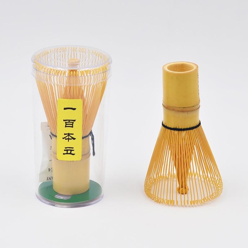 Profesional Chasen té japonés ceremonia molinillo cepillos ceremonia bambú cepillo herramienta Verde té batidor de polvo bambú Matcha Brush