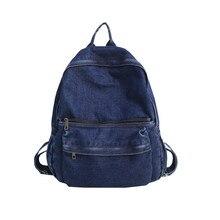ZF-369 nueva moda mochila de lona de viaje de ocio Mochila De mujer