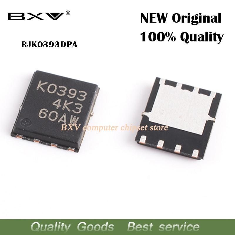 10pcs RJK0393DPA RJK0393 K0393 MOSFET QFN-8 new original free shipping