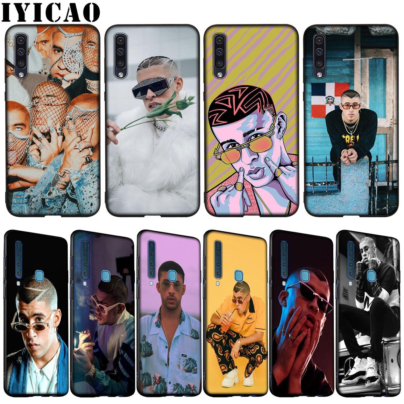 IYICAO mal conejito funda de silicona suave para Samsung Galaxy A70 A60 A50 A40 A30 A20 A10 M10 M20 M30 M40 A20E cubierta
