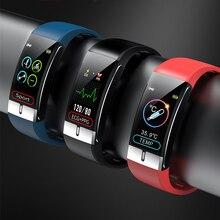 Pour Sony Xperia 10 II Horloge intelligente Ecg température Meting Polsband bande mince pour Leagoo M13 M12 S11 Z13 Z15 Z10 XRover C