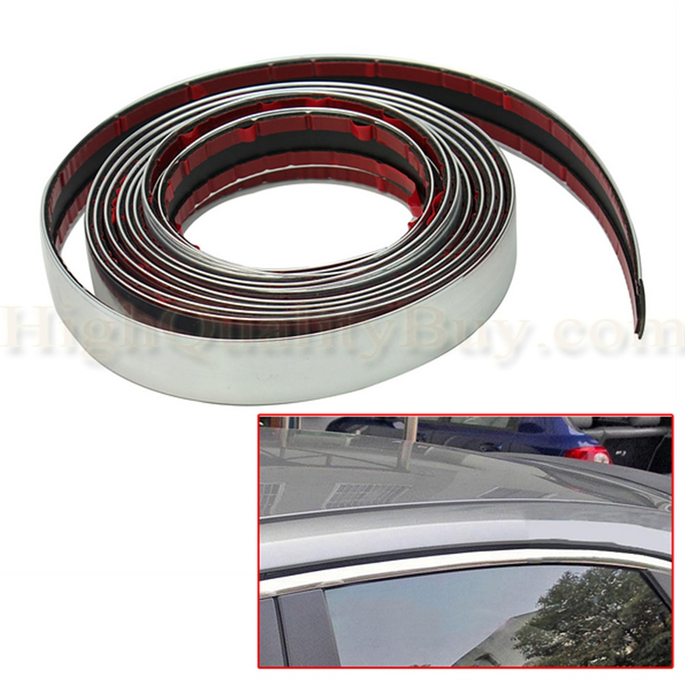 3M Car Styling Interior Exterior Decoration Strips Moulding Trim Dashboard Door Edge Universal For Cars Auto Accessories