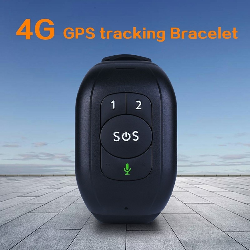 IP67 مقاوم للماء 4G LTE GSM المسنين SOS زر معصمه سوار إنذار في حالات الطوارئ لتحديد المواقع تتبع معدل ضربات القلب مراقبة ضغط الدم