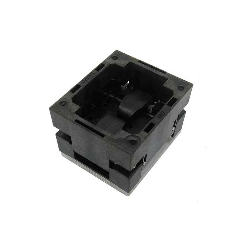 DFN8 QFN8 WSON8 Open Top burn in socket Pogo Pin IC Test Socket Pitch 0.5mm Chip Size 2x3 Flash Adapter Programming Socket