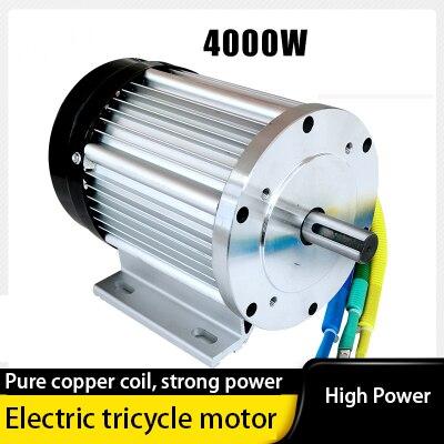48V60V4000W تيار مستمر فرش السيارات مناسبة لدراجة ثلاثية العجلات الكهربائية ، غسالة ، تعديل معدات المصعد
