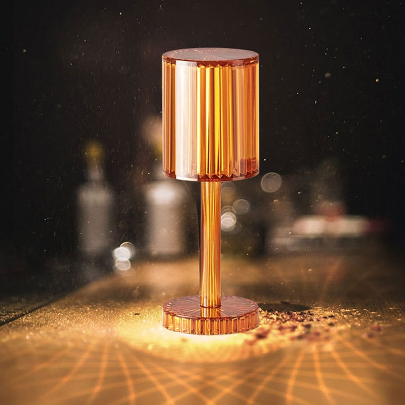 Spain Gatsby Desk Lamp USB Touch Rechargeable Table Lamp Living Room Restaurant Bar Atmosphere Light Bedside Lamp Night Light