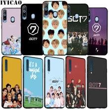 IYICAO Got7 K Pop Got 7 Soft Silicone Case for Samsung Galaxy A70 A50 A60 A40 A30 A20 A10 M10 M20 M30 M40 A20E Black TPU Cover