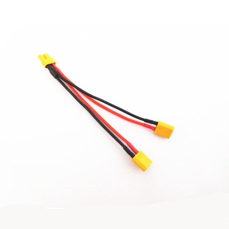 XT30 XT-30 cable paralelo Y cable 18 awg 10CM cargador de batería