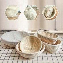 Panier de pâte en rotin   13 modèles de variété, pâte, panier de pâte, Banneton brochette étanchéité du pain prouver Fermentation paniers de pays