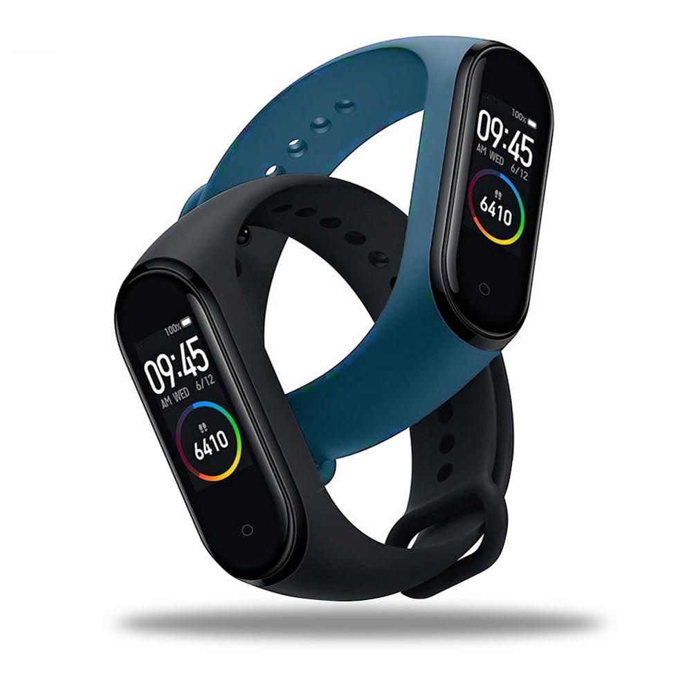 Bluetooth M4 Smart Wristband Waterproof Watch Blood Pressure Real Heart Rate Monitor Fitness Tracker Smart Bracelet PK M3 Plus