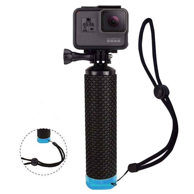 Agarre de mano flotante a prueba de agua para cámara GoPro Hero 7 Session Hero 6 5 4 3 2 cámaras de acción para deportes acuáticos controlador Accesorios