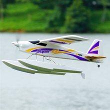 FMS RC avion SUPER EZ V4 1220MM envergure oeb formateur débutant radiocommande avion PNP Verison avec flotteurs jouets davion