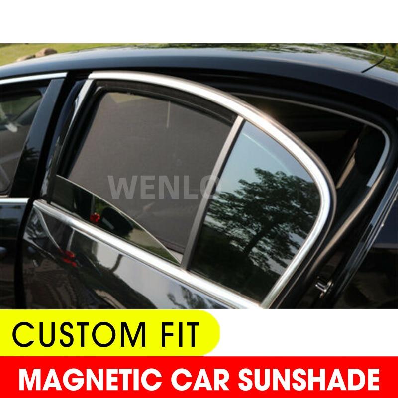 4PCS Magnetic Car Side Window SunShades Cover Mesh Blind For Honda Jade CRV HRV XRV URV Crider ENVIX Civic Accord BREEZE X-NV
