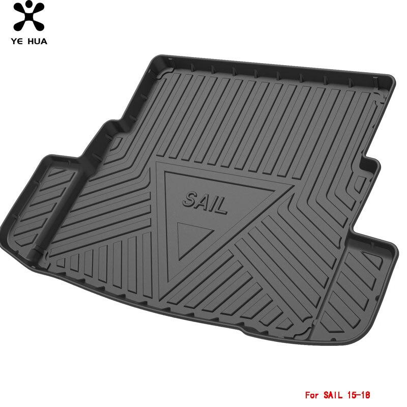 коврики в машину Автомобильные коврики для Chevrolet Sail, напольный коврик, водонепроницаемый прочный коврик, специализированные детали интерье...