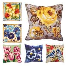 Vlinder tapijt borduren koop sets kruissteek kussen klink haak kussen borduren tapijt doe het zelf diy tapijten handwerken