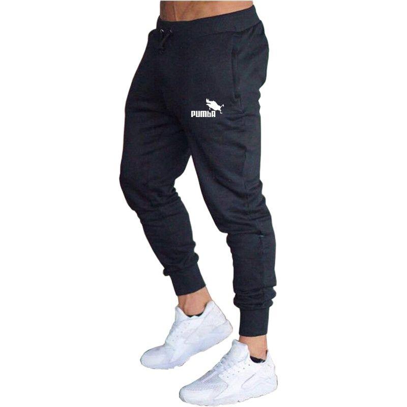 2021 повседневные мужские брюки, джоггеры, спортивные брюки, однотонные брюки, спортивная одежда для фитнеса, тренировочные брюки, Яркие летн...