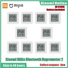 2020New 1 10 шт. Xiaomi Mijia Bluetooth термометр 2 беспроводной смарт Электрический цифровой термометр гигрометр работать с Mijia APP