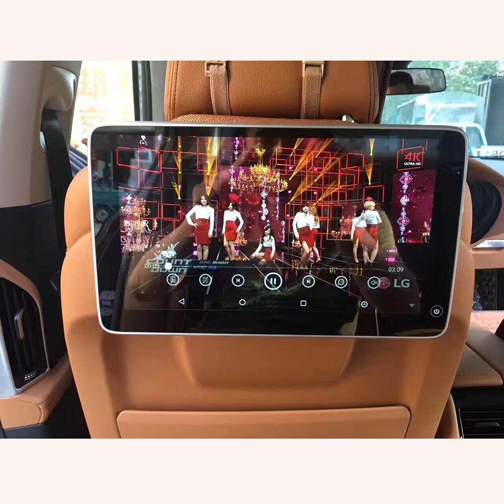 Alle Neue 11,6 Zoll Android 9.0 Auto Kopfstütze Monitor für BMW Zurück Sitz Unterstützung WiFi 4K Touch Screen Video Versteckte halterung