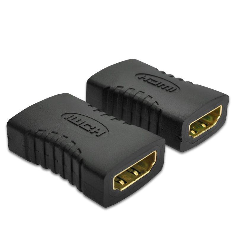 Adapter Female to Female Connector Extender Cable Cord Extension Adapter Converter 1080P Audio video