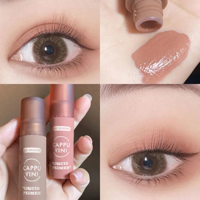6Color Matte Liquid Blush Eyeshadow Velvet Blusher Rouge Long lasting Face Natural Cheek Liquid Blus