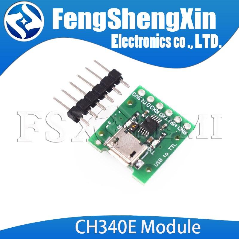 CH340E MSOP10 USB zu TTL Modul Pro mini downloader