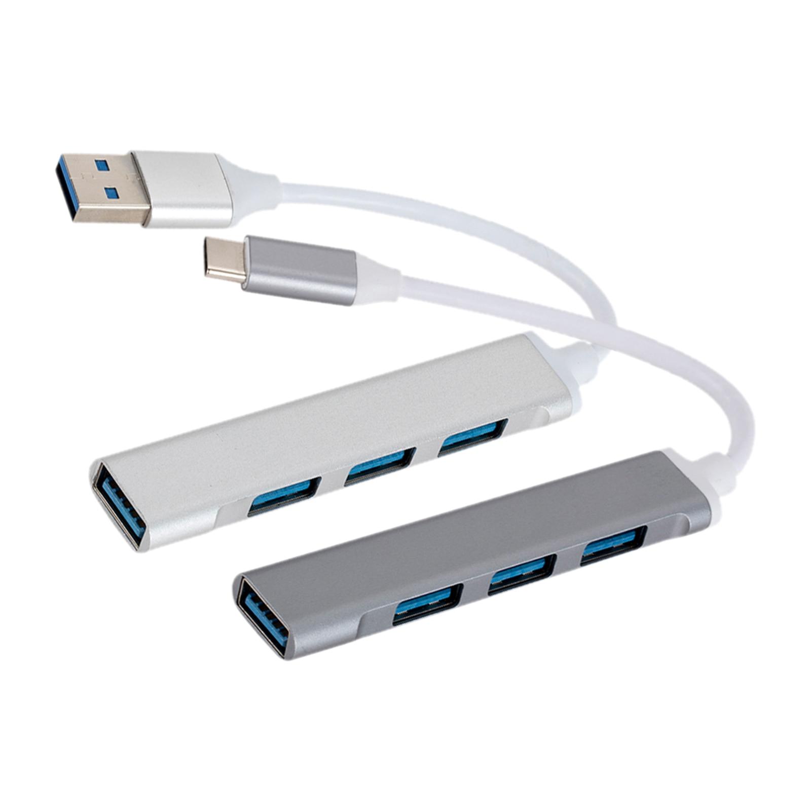 cubo de 4 portas usb divisor portatil do cubo de dados de 5gbps dongle do adaptador