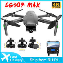 SG907 Max Drone 4k Profesional GPS 5G WIFI HD 3-Axis Gimbal Camera Drone Brushless Motor FPV RC Quadcopter VS SG906 Pro2 Max