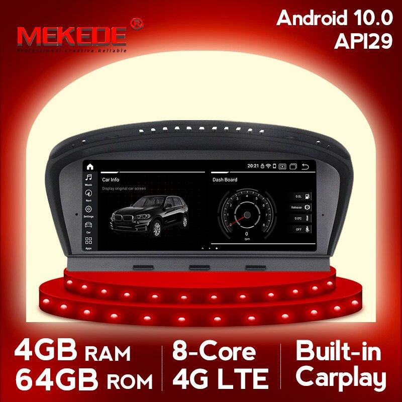 Android10 مشغل أسطوانات للسيارة autoradio gps والملاحة مشغل وسائط متعددة ل BMW 5 سلسلة E60 E61 E62 E63 3 سلسلة E90 E91 CCC/CIC نظام