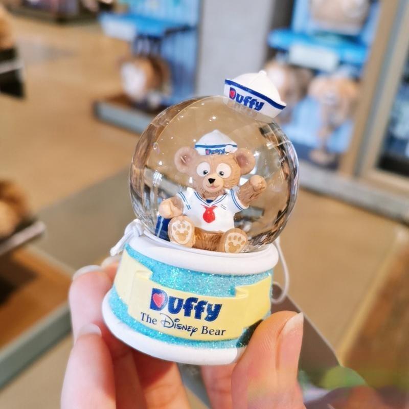 Disney Mickey Mouse Minnie Star Dailu Shirley May Cute Mini Car Center Console Crystal Ball Ornaments Car Decorations enlarge