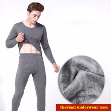 Men's Thermal Underwear Long Johns For Male Winter Thick Thermo Underwear Sets Winter Clothes Men Ke
