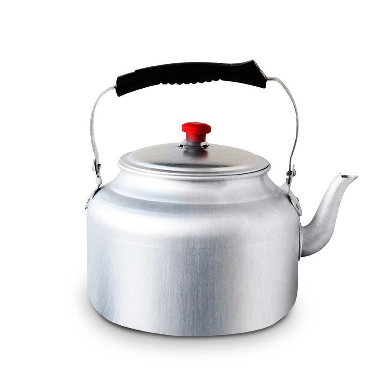 غلاية ألومنيوم سميكة ، موقد فحم ، زجاجة ماء ساخن ، غلاية شاي ، إبريق قهوة من الفولاذ المقاوم للصدأ