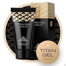 TITAN GEL penis enlargement Cream GOLD Intimate Gel for Man for Dick Help Male Potency Penis Growth