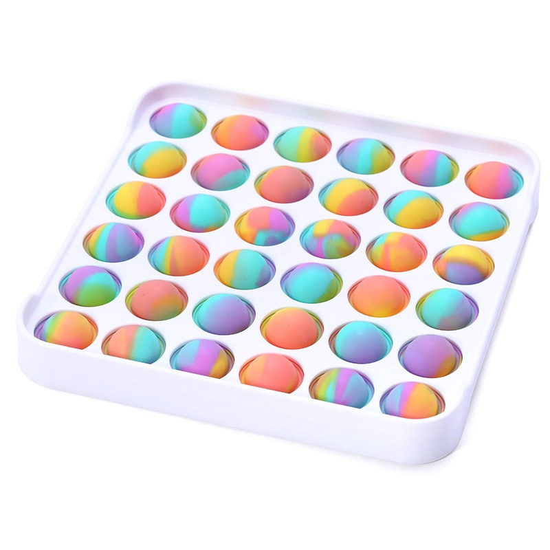 Push Bubble pop it S Autism New Fidget Toys Toy Restore Emotions Stress Reliever for OCD Anxiety