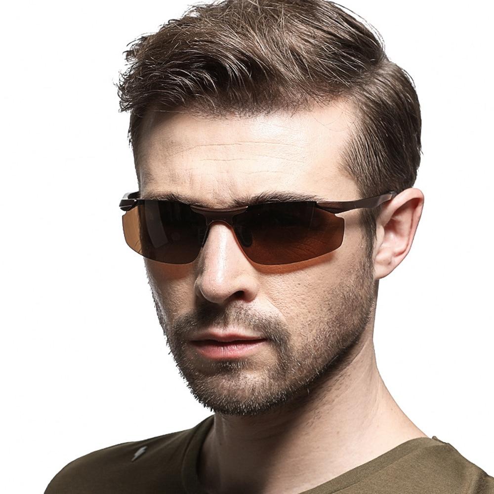 XaYbZc Polarized Sunglasses Mens/Women Driving Mirror Sun Glasses Metal Frame Goggles UV400 Anti-Gla