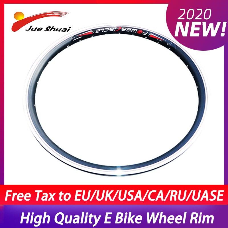 Juego de llantas de aleación de aluminio para Bicicleta, rueda eléctrica de...