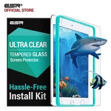 Screen Protector für iPad 9,7 2018, ESR Freies Applikator 9H Gehärtetem Glas Film für iPad 2017 Für iPad Pro 9,7 zoll Air 1 Air2