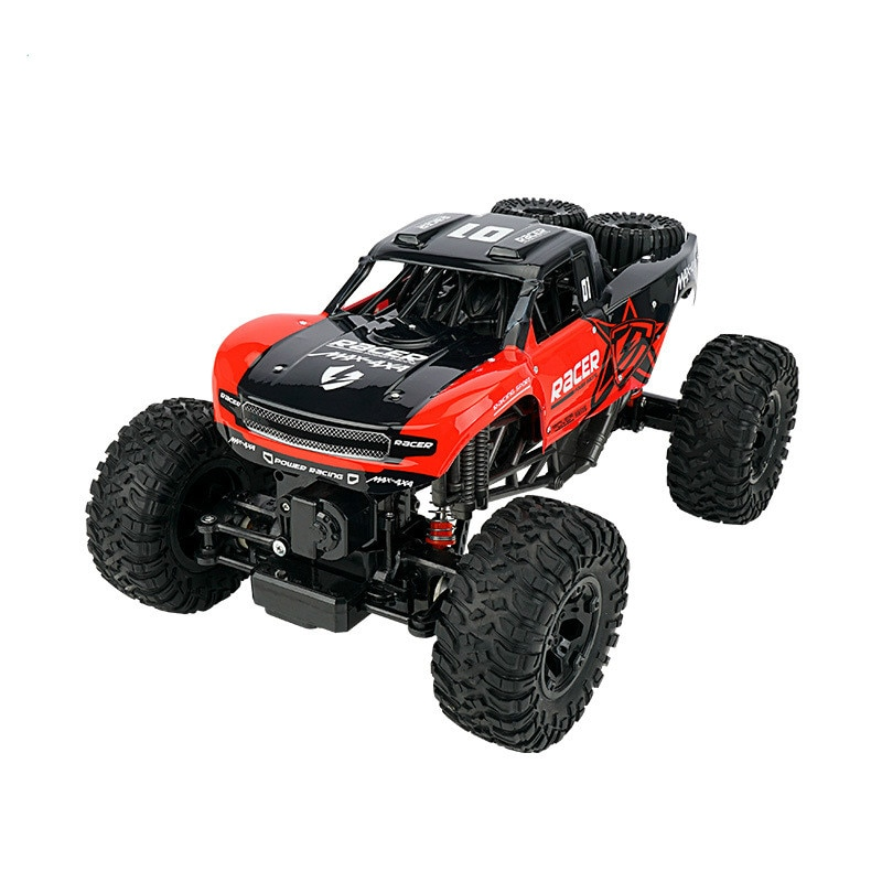 Toy Car Amphibious Bigfoot Electric Remote Control Vehicle Super High Speed Four Wheel Drive Cross Country Climbing Children
