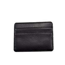 New Ultra-thin Credit Card Holder Wallet  Leather Small Thin Women Men ID Business Card Wallets Purs
