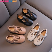 Children's Flats Lace school Princess Party Performance Shoes Big Student Girl Shoes for Kids Soft S