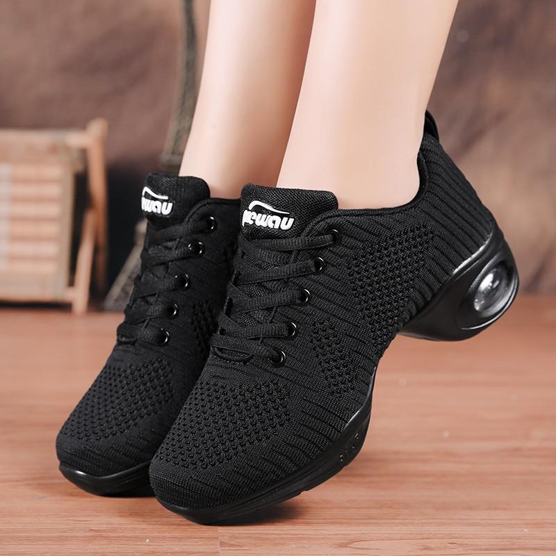 DUDELI 2020 Dancing Shoes for Women Jazz Sneaker New Dance Sneakers for Women Modern Street Dance Shoes Feminino Zapatos