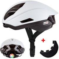 KINGBIKE Matte White Light Cycling Helmet Men Bike Ultralight helmet Intergrally-molded Mountain Road Bicycle MTB Helmet Safe