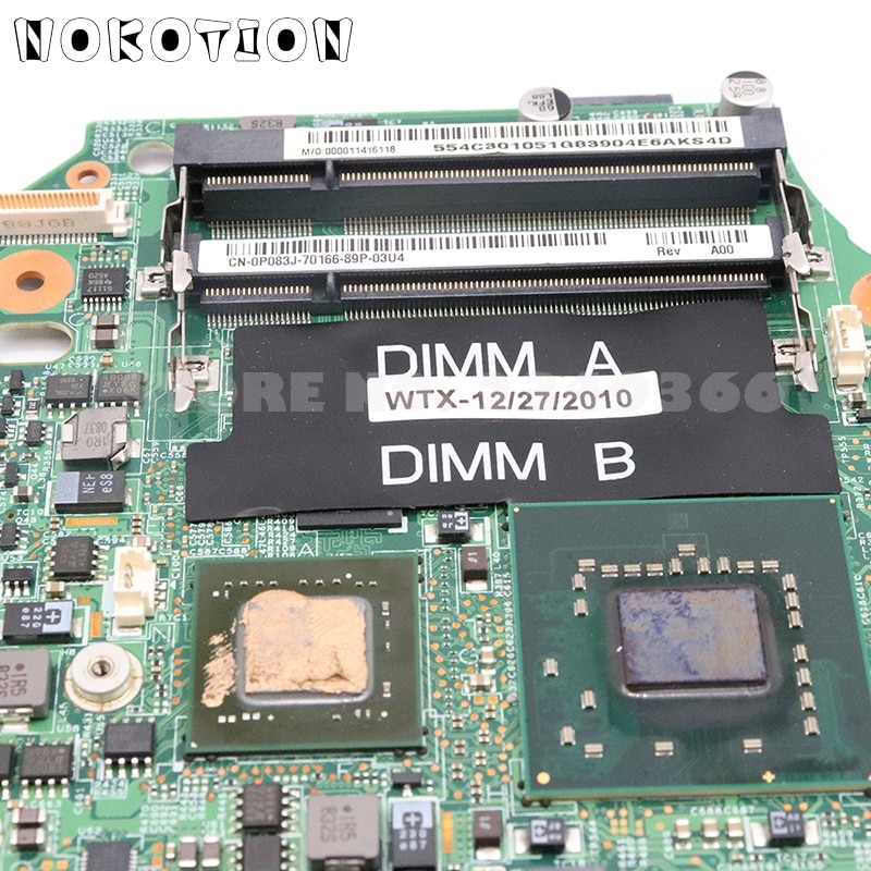 YOUKITTY for XPS M1330 Laptop Motherboard CN-0X635D 0X635D DDR2 Test Good