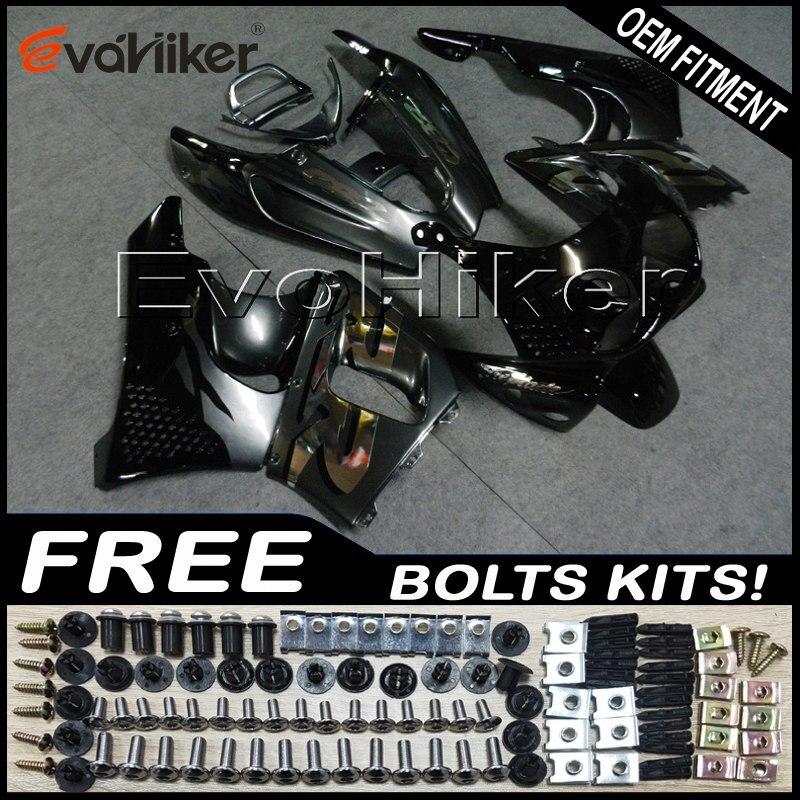 ABS Fairings بدن ل CBR900RR 1989 1990 1991 1992 1993 الأسود CBR893RR 89 90 91 92 93 الجسم عدة دراجة نارية لوحات