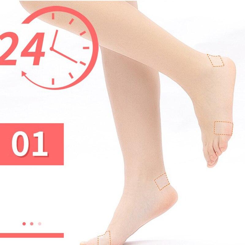 1 Pcs Anti-Wear PE Heel Sticker Tape Heel Patch Waterproof First Aid Blister Pedicure Pad Foot Care,